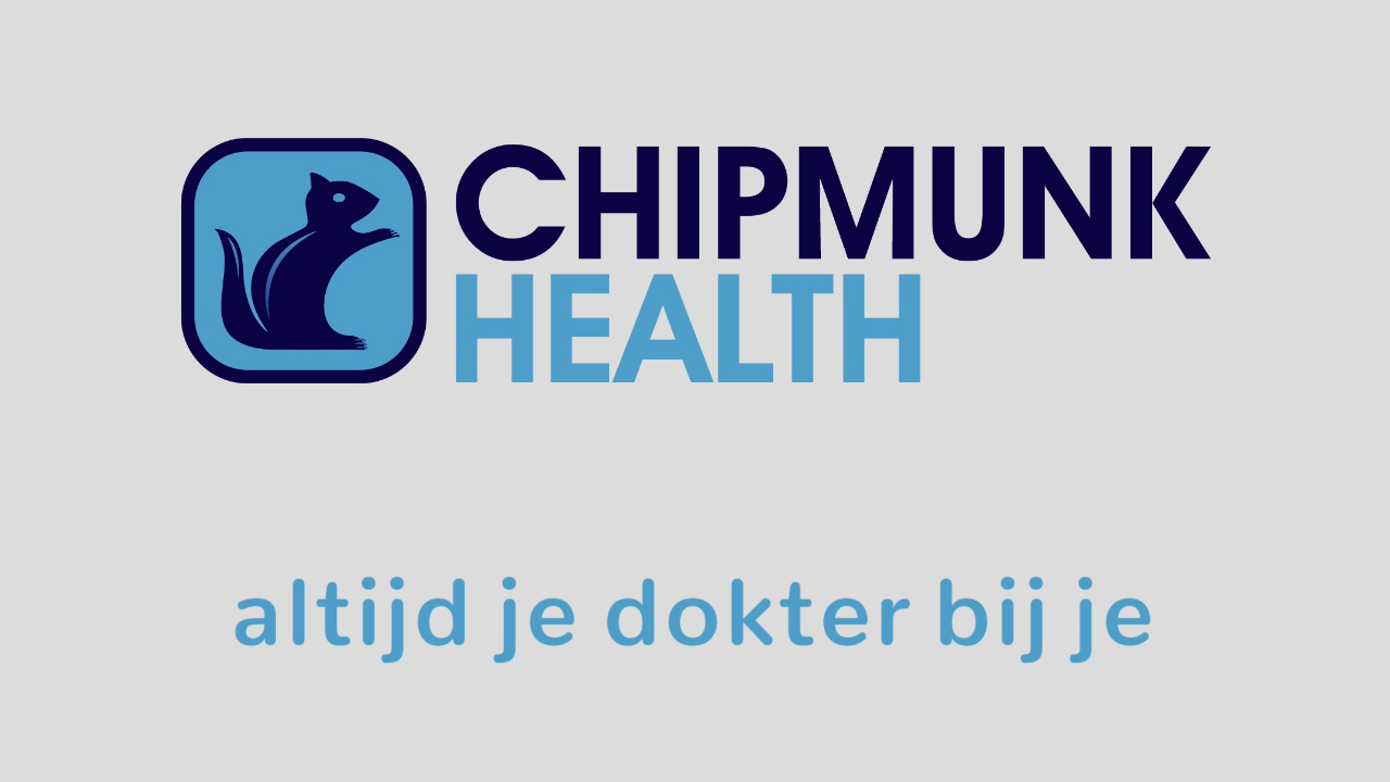 Youtube title card - Chipmunk Health